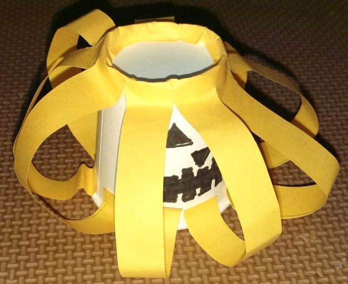 紙コップパンプキン