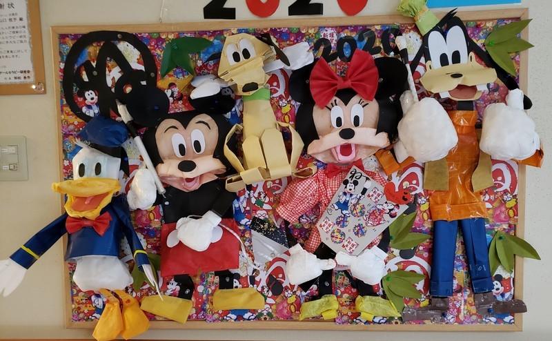 ミッキーマウスの仲間集合