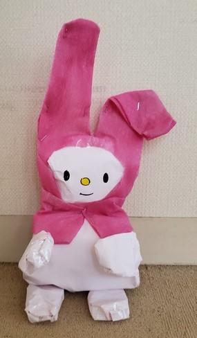 素直で明るい女の子のウサギ