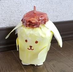ポムポムプリンの作り方(紙コップ)