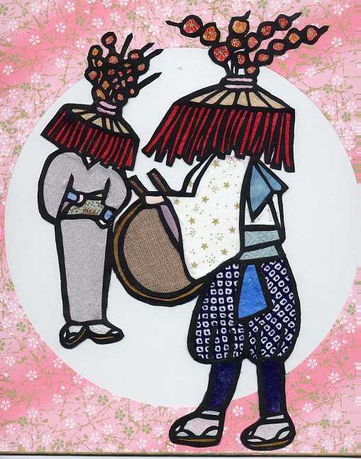 山女原の太鼓踊り